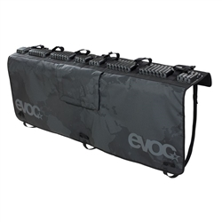 Image: EVOC TAILGATE PAD V2 BLACK MEDIUM/LARGE