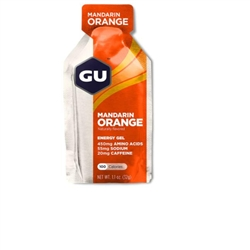 Image: GU ENERGY GEL MANDARIN ORANGE
