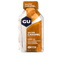Image: GU ENERGY GEL SALTED CARAMEL