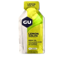 Image: GU ENERGY GEL LEMON SUBLIME
