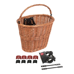 Image: BC FRONT TAN WICKER BASKET WITH QR