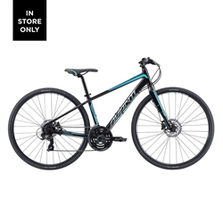 Image: AVANTI GIRO F2W 2021 BLACK / METALLIC TEAL LARGE
