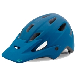 Image: GIRO CARTELLE MIPS WOMENS HELMET MATT BLUE / TEAL MEDIUM