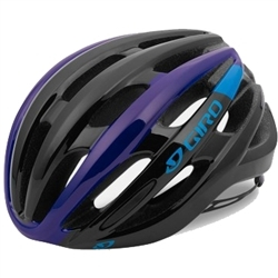 Image: GIRO FORAY MIPS HELMET BLACK / BLUE / PURPLE SMALL