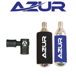 Image: AZUR CO2 REGULATOR SET 2 25G CARTRIDGES