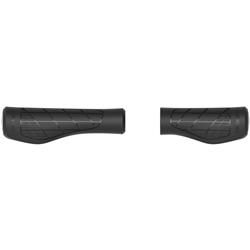 Image: ERGON GA3 TWIST-SHIFT GRIPS LEFT LONG / RIGHT SHORT BLACK