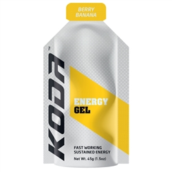 Image: SHOTZ/KODA ENERGY GEL BERRY BANANA