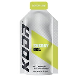 Image: SHOTZ/KODA ENERGY GEL LEMON/LIME