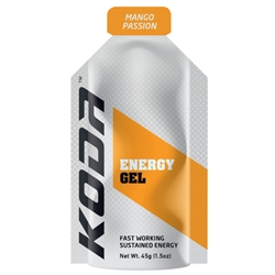 Image: SHOTZ/KODA ENERGY GEL MANGO PASSION