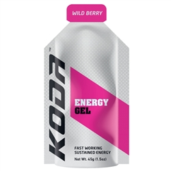 Image: SHOTZ/KODA ENERGY GEL WILDBERRY