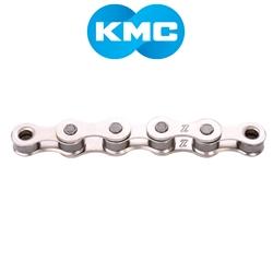 Image: KMC KMC CHAIN S1 SINGLE SPEED 112 LINKS SILVER