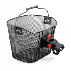 Image: SUNNYWHEEL WIRE BASKET MESH FRONT WITH QUICK RELEASE