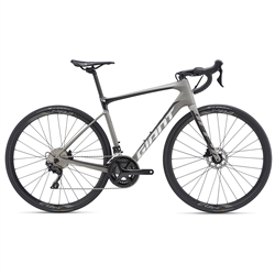 Image: GIANT DEFY ADVANCED 2 2019 GREY SMALL