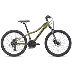 Image: GIANT XTC JR DISC 24 2020 OLIVE GREEN