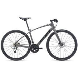 Image: GIANT FASTROAD ADVANCED 2 2021 CHARCOAL MEDIUM