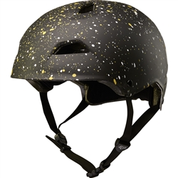 Image: FOX HEAD FLIGHT HELMET 2018 BLACK / GOLD SPLATTER LARGE