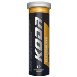 Image: SHOTZ/KODA ELECTROLYTE TABLETS 12PACK SMOOTH ORANGE