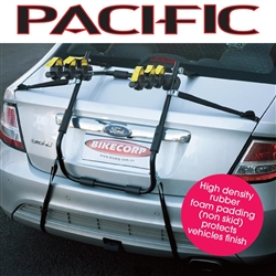 Image: PACIFIC BIKE RACK REAR STRAP MOUNT 3 BIKE WIDE