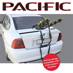 Image: PACIFIC BIKE RACK REAR STRAP MOUNT 3 BIKE NARROW