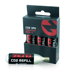 Image: ZERO CO2 16G CARTRIDGE 3 PACK