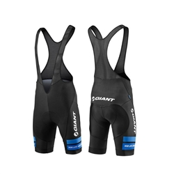 Image: GIANT RACE DAY BIB SHORT BLACK / BLUE XSMALL