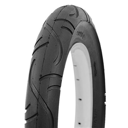 Image: ROCKET TYRE 12 INCH SMOOTH TREAD BLACK