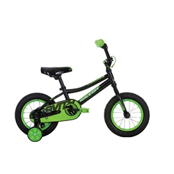 Image: RALEIGH GRAVITY BOYS 12 INCH BOYS 2019 BLACK / GREEN