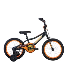 Image: RALEIGH GRAVITY BOYS 16 INCH BOYS 2019 BLACK / ORANGE
