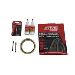 Image: STANS NO TUBES TUBELESS KIT ROAD / GRAVEL 21MM TAPE 55MM VALVE
