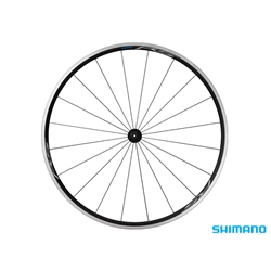 Image: SHIMANO WH-RS100 FRONT WHEEL BLACK