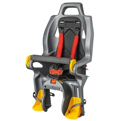 Image: SYNCROS BABY SEAT WITH DISC BRAKE ALLOY RACK CA-01 BLACK