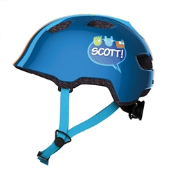Image: SCOTT CHOMP HELMET BLUE ONE SIZE