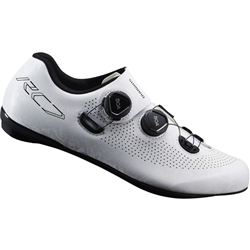 Image: SHIMANO SH-RC701 ROAD E-WIDTH WIDE SHOES WHITE 45