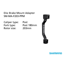 Image: SHIMANO SM-MA-F203-PPM MOUNT ADAPTER