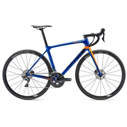 Image: GIANT TCR ADVANCED PRO 1 DISC 2018 ELECTRIC BLUE LARGE