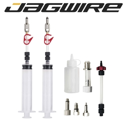 Image: JAGWIRE BLEED KIT DOT FLUID AVID FORMULA HAYES HOPE SRAM