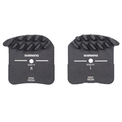 Image: SHIMANO H03A DISC PADS WITH COOLING FINS