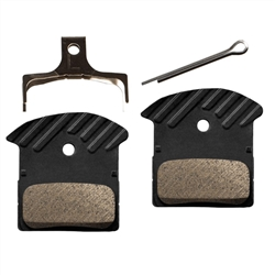 Image: SHIMANO J03A DISC PADS WITH COOLING FINS
