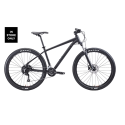 Image: MALVERN STAR AXIS 2 2021 MATTE BLACK / BLACK LARGE