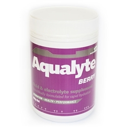 Image: AQUALYTE AQUALYTE 480G TUB BERRY