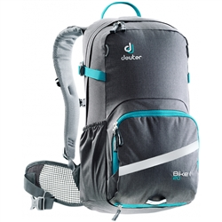 Image: DEUTER BIKE I 20 BACKPACK GRAPHITE / PETROL
