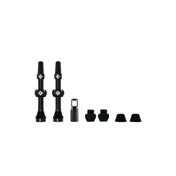 Image: MUC-OFF TUBELESS VALVE KIT BLACK