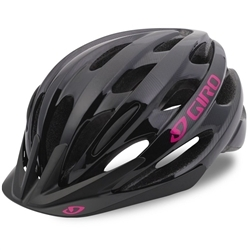 Image: GIRO VERONA HELMET LADIES BLACK TONAL LINES YOUTH