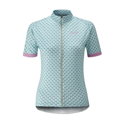 Image: CHAPEAU! MADELEINE TILE LADIES JERSEY SUMMER SKY BLUE SMALL