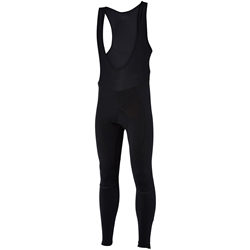 Image: MADISON STELLAR BIB TIGHTS MENS BLACK SMALL