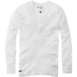Image: MADISON ISOLER MESH MENS LONG SLEEVE BASELAYER WHITE XSMALL/SMALL