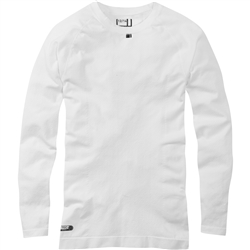 Image: MADISON ISOLER MESH LADIES LONG SLEEVE BASELAYER WHITE 12-14