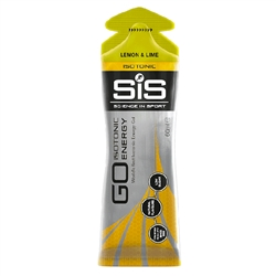 Image: SIS NUTRITION GO PLUS ISOTONIC ENERGY GEL 60ML LEMON/LIME