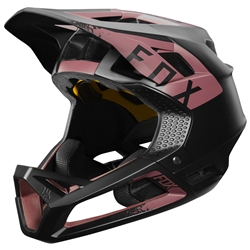 Image: FOX HEAD PROFRAME MIPS LADIES HELMET DUSTY ROSE MEDIUM