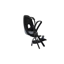 Image: THULE YEPP NEXXT MINI FRONT MOUNTED CHILD SEAT BLACK / GREY